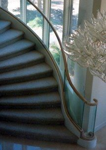 Titan Stair Glass 1....by Houston Stair