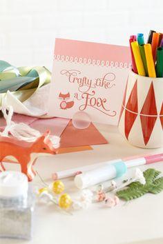 Crafty Like a Fox Party
