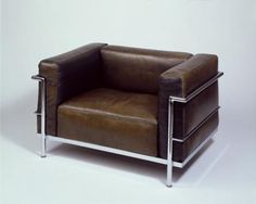 In 1929, Le Corbusier turned the traditional club chair inside out – and created a design icon.
