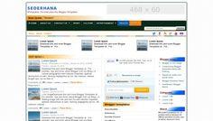 Sederhana Blogger Template is Free Blogger template designed by maskolis. It has 3columns, 2right sidebars, ads ready, magazine, white.