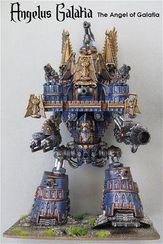 """Legio Victorum """"Angelus Galatia"""" Imperator Titan."""