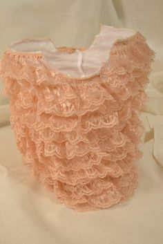 Small Town Small Budget: DIY Lace Baby Romper