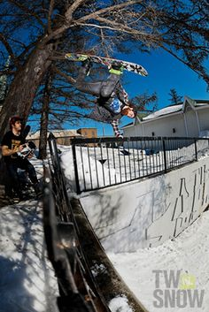 LNP.  PHOTO: Joel Fraser  | Wallpaper Wednesday: Your favorite riders favorite riders | TransWorld SNOWboarding