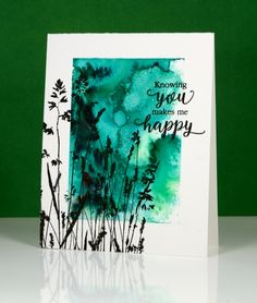 The One Layer Simplicity challenge is hosted by our very artistic team member Karen Dunbrook this month and she has challenged us to use green and one neutral tone on our one layer cards. I have a …