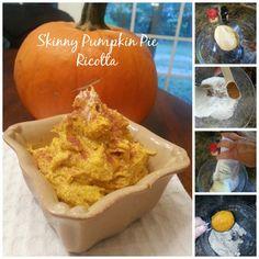 Pumpkin Pie Spiced Ricotta