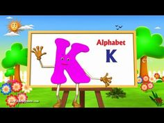 Letter K Song - 3D Animation Learning English Alphabet ABC Songs For children