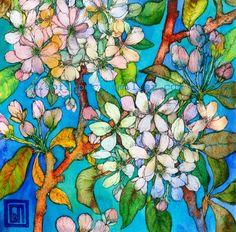 Apple Blossom. Art by Sofía Perina Miller