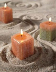 Sand Candle Making - this takes me back to Miami in the 70's