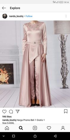 Super dress hijab bridesmaid batik 67 ideas Source by basem_marawe Dress Brukat, Kebaya Dress, Batik Dress, The Dress, Dress Outfits, Dress Brokat Muslim, Muslim Gown, Dress Brokat Modern, Kebaya Muslim