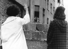 After World War II, Europe was divided by The Berlin Wall on two parts - East and West. Here's the collection of amazing mid-century photographs of Berlin. Fall Of Berlin Wall, Stanford Prison Experiment, East Germany, Germany Berlin, Second World, Wimbledon, 25th Anniversary, Vintage Photographs, Once Upon A Time
