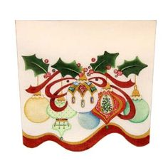 Ornament Stocking Cuffs, The Needle Works Online Shop