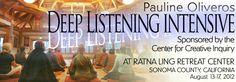 ratnaling | DEEP LISTENING INSTITUTE  deeplistening.org Explore Quotes, Sonoma County, Deep