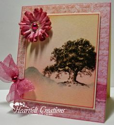 Heartfelt Creations | Vintage Morning Tree