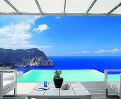 Individual Infinity Pool, Cliffs of Ibiza, Spain