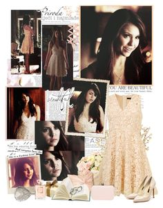 """""""Elena gilbert"""" by mery90 ❤ liked on Polyvore featuring INC International Concepts, Nordstrom, Polaroid, Rupert Sanderson, Chanel, A