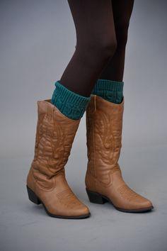 leg warmers under boots