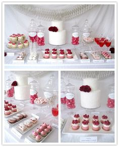 another dessert table set up