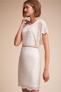 BHLDN Elin Dress Ivory  in  Bridal Party | BHLDN