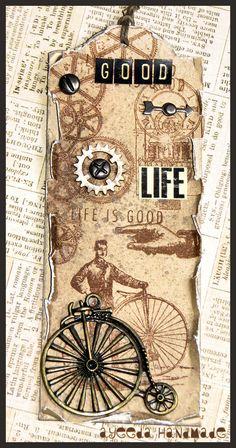 tag antique bike