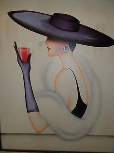 Image result for images of art deco ladies in hats #typesofhatsforwomen