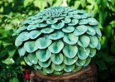 Lime Green Pom Pom by Frances Doherty - stoneware Ceramic Clay, Ceramic Pottery, Pottery Art, Sculptures Céramiques, Sculpture Clay, Garden Sculptures, Ceramic Sculptures, Ceramic Flowers, Clay Flowers
