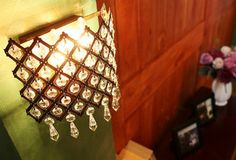NEW STEEL CRYSTALS LAMP ANTIQUE WALL SCONCE LIGHT MODERN PENDANT CHANDELIER