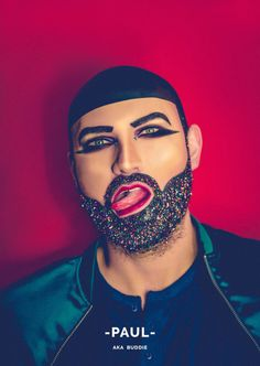 These Men And Their Glitter Beards Will Challenge How You Think About Gender | HuffPost