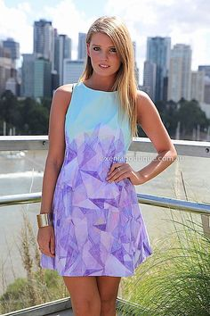 GEOMETRIC AFFAIR DRESS , DRESSES, TOPS, BOTTOMS, JACKETS & JUMPERS, ACCESSORIES, 50% OFF SALE, PRE ORDER, NEW ARRIVALS, PLAYSUIT, COLOUR, GI...