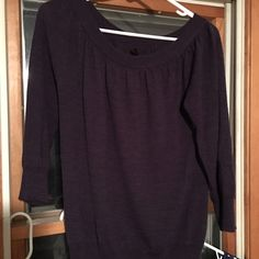 The Limited Sweater size large, purple Soft and lightweight! The Limited Sweaters