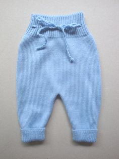 Items similar to Baby Pants on Etsy Knitting Patterns Boys, Baby Boy Knitting, Baby Pants Pattern, Matching Sweaters, Cool Baby Stuff, Diy Clothes, Knitwear, Kids Fashion, Gym Shorts Womens