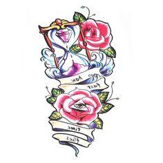 UneTattoo QS-A022 Temporary Tattoo Arm Tattoo 15*21 CM