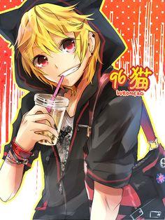 96neko.full.987579.jpg (450×600)  lets drink Tapioca!