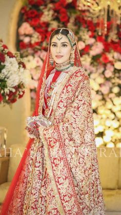 Fashion:Pin by apple on brides stunning indian wedding dress for women indian wedding dress Muslim Wedding Dresses, Pakistani Wedding Outfits, Wedding Dresses Photos, Bridal Outfits, Designer Wedding Dresses, Indian Bridal Lehenga, Red Lehenga, Pakistani Wedding Dresses, Lehenga Choli