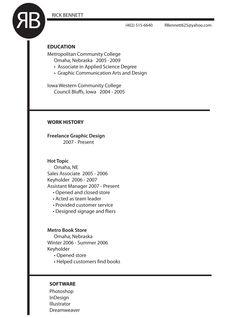 Headers For Resumes Custom Resume Design  A6Resumes To Buy  Pinterest