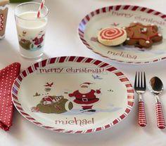 Persoilzed Christmas plates