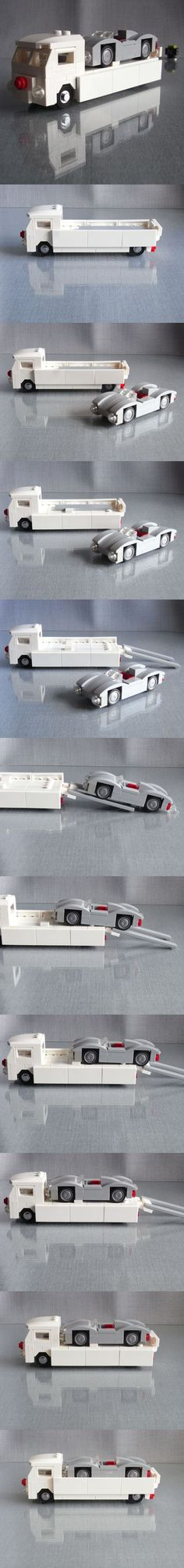 LEGO VW T1 Renntransporter