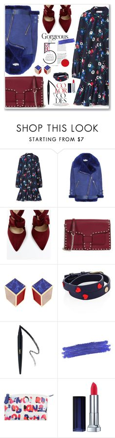 """Без названия #2360"" by marikamoshar ❤ liked on Polyvore featuring Tory Burch, Acne Studios, Rebecca Minkoff, By Terry and Fendi"
