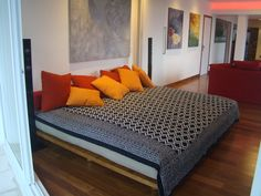 Quarto com futon Biofuton Trabalho Mariana Fortes