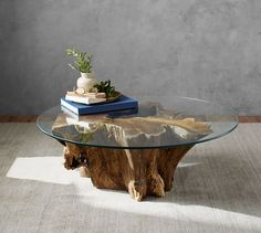 Driftwood Coffee Table | Pottery Barn