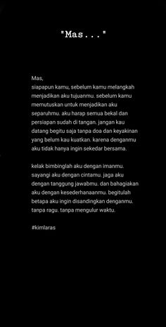 Caption Quotes, Text Quotes, Quran Quotes, Quotes Quotes, Quotes Romantis, Jodoh Quotes, Married Quotes, Cinta Quotes, Wattpad Quotes