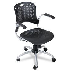 Balt Circulation Task Chair, Black, 1 Carton