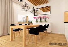 Jadalnia styl Nowoczesny - zdjęcie od design me too Table, Room, Furniture, Design, Home Decor, Projects, Bedroom, Decoration Home, Room Decor