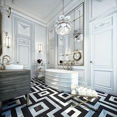 Magnificent Houses * Casas Magníficas - Black