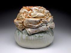 Bird's Nest series, reversible bowl, view 2. $750.00 Diy Workshop, Ceramic Artists, Art Pieces, Lion Sculpture, Ceramics, Nest, Crystals, Gallery, Earth
