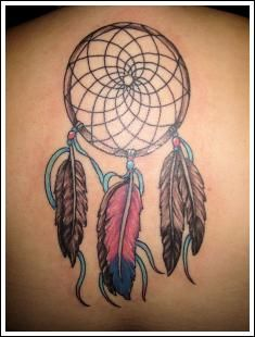 cute dream catcher tattoo