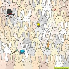 The illustrator who brought you the hidden panda, Gergely Dudás (aka Dudolf) uploaded a new photo just in time for Easter. Can you find the hidden egg? Happy Easter, Easter Bunny, Easter Eggs, Stormtroopers, Reto Mental, Wheres Wally, Illustrator, Hidden Pictures, Hidden Pics