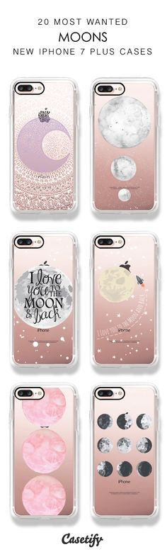 Flying to the Moon! 20 Most Wanted iPhone 7 / iPhone 7 Plus Phone Cases here >https://www.casetify.com/search?keyword=moon