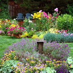 Two-Color Gardens