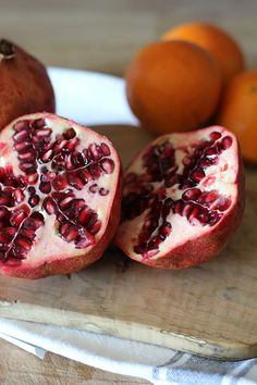 Pomegranate and Orange juice - The Rabbit Hole