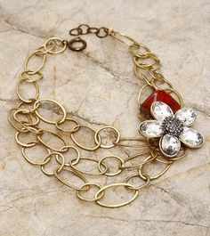 Gold Embellished #Necklace BUY 1 GET 2 FREE